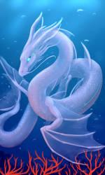 Sea Serpent by PurpleTigress