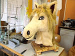 Horse Head Fursuit Costume by AtalontheDeer