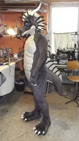 Bengges V2 2012 Fursuit Dragon by AtalontheDeer
