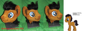 Male MLP Pony Head (possible dr whooves)