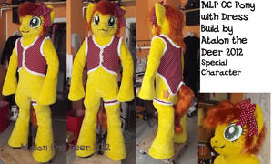 OC MLP Character Canni Convention MAscot  Galacon