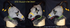 Dragonfly Costume Head by AtalontheDeer