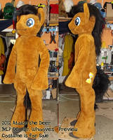 MLP Dr. Whooves Fursuit PreView - just finished by AtalontheDeer
