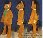 MLP Dr. Whooves Pony Fursuit - finished