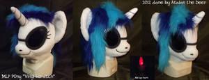MLP Vinyl Scratch Fursuit Head
