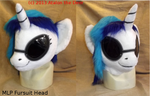 Vinyl Scratch Head - MLP