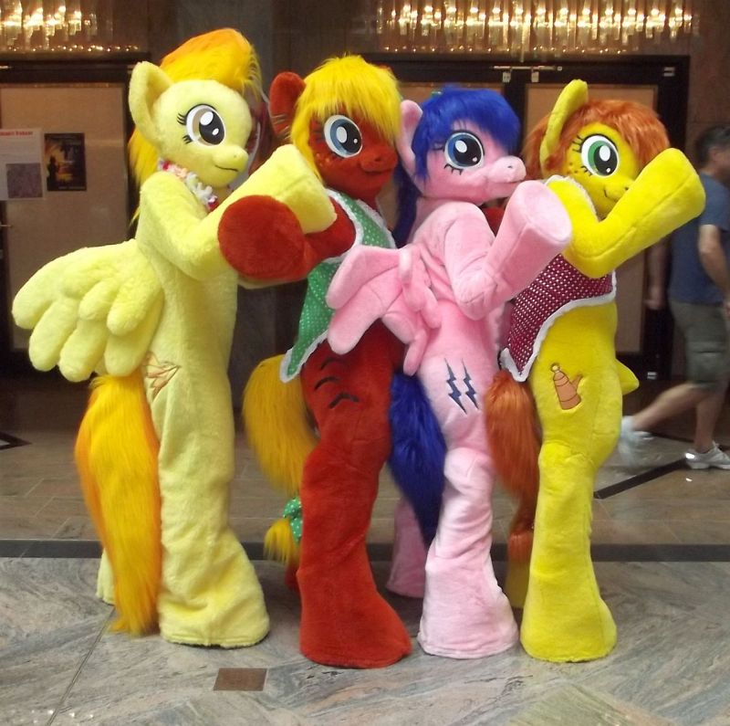 Show Your Cutiemark Mlp Fursuit Pony At Ef 19 By