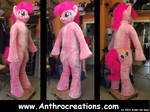 MLP PP Full 2014 Fursuit Pony Horse with Balloon