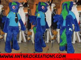 MidnightRush MLP Suit Fursuit by AtalontheDeer