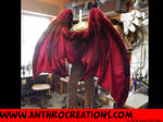 Dragon Wings Foldable Back View