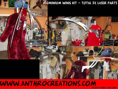 The Aluminium Dragon Wing Kit