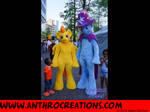 MLP Suits Spitfire and Trixi at Cosdays