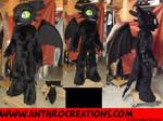 Toothless Fursuit Costume Toon