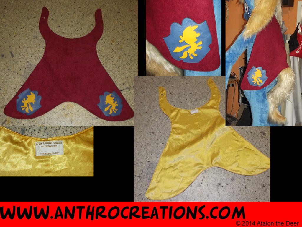 Cutie Mark Crusader Cape for MLP Fursuit by AtalontheDeer