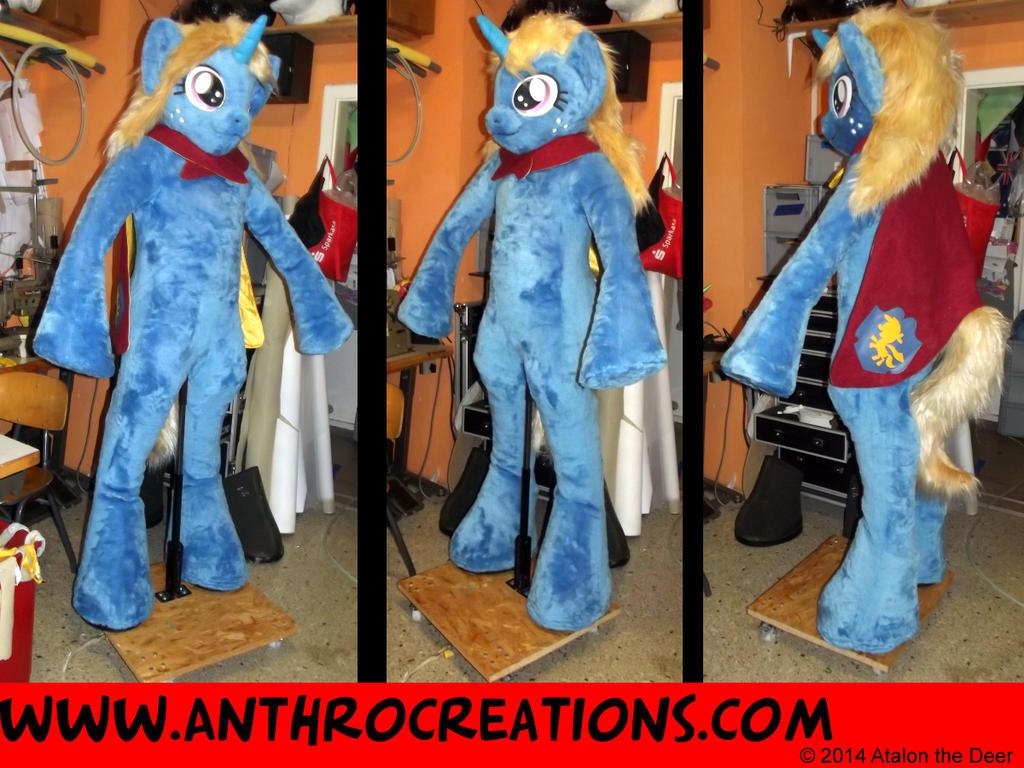 OC MLP Pony CMC Horse Fursuit by AtalontheDeer