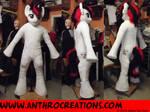 BJ OC MLP Pony Horse Fursuit red/black/white