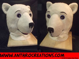 Mascot/Furry touch Stlye Icebear Head by AtalontheDeer