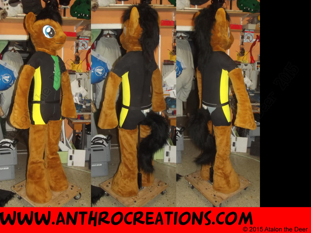 MLP Male Partial Suit by AtalontheDeer
