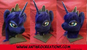 Luna Princess MLP Horse Cosplay Head by AtalontheDeer