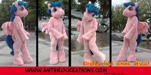 Fire Fly MLP Old School Style Cosplay Pony by AtalontheDeer