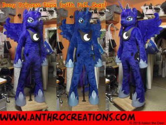 Luna Pony Fursuit 2015 by AtalontheDeer