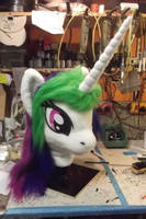 Celestia Head just fin of worktable by AtalontheDeer