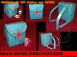 Saddlebag Tornister Backpack Brony Fursuit TWS