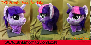 TWS Princess Pony Fursuit Head for Sale Mascot by AtalontheDeer