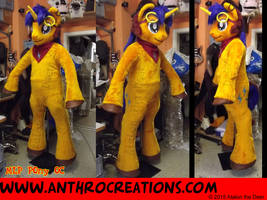 MLP Pony OC Fursuit Cosplay Costume by AtalontheDeer