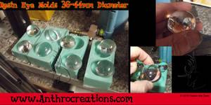 Fursuit Resin Eye Molds done 36-44mm
