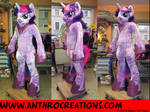 TWS Unicorn Female Cosplay Fursuit Pony