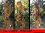 Tasman Tiger Fursuit Costume