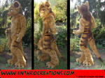 Tasman Tiger Fursuit Costume