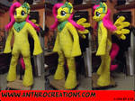 MLP Pony Fluttershy Fursuit Anthrostyle