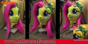 Fursuit head cosplay head Fluttershy