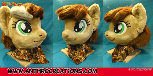 OC MLP Pony Fursuit Head
