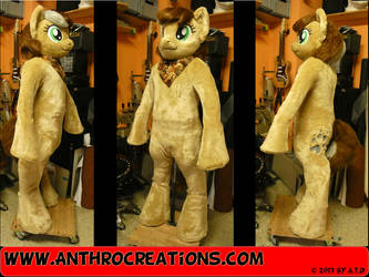 OC MLP Pony Fursuit by AtalontheDeer
