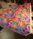 Pony fabrics arrived for scarfs