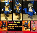 Lucario Pokemon Fursuit