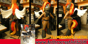 MLP Pony Costume Partial Flamerunner