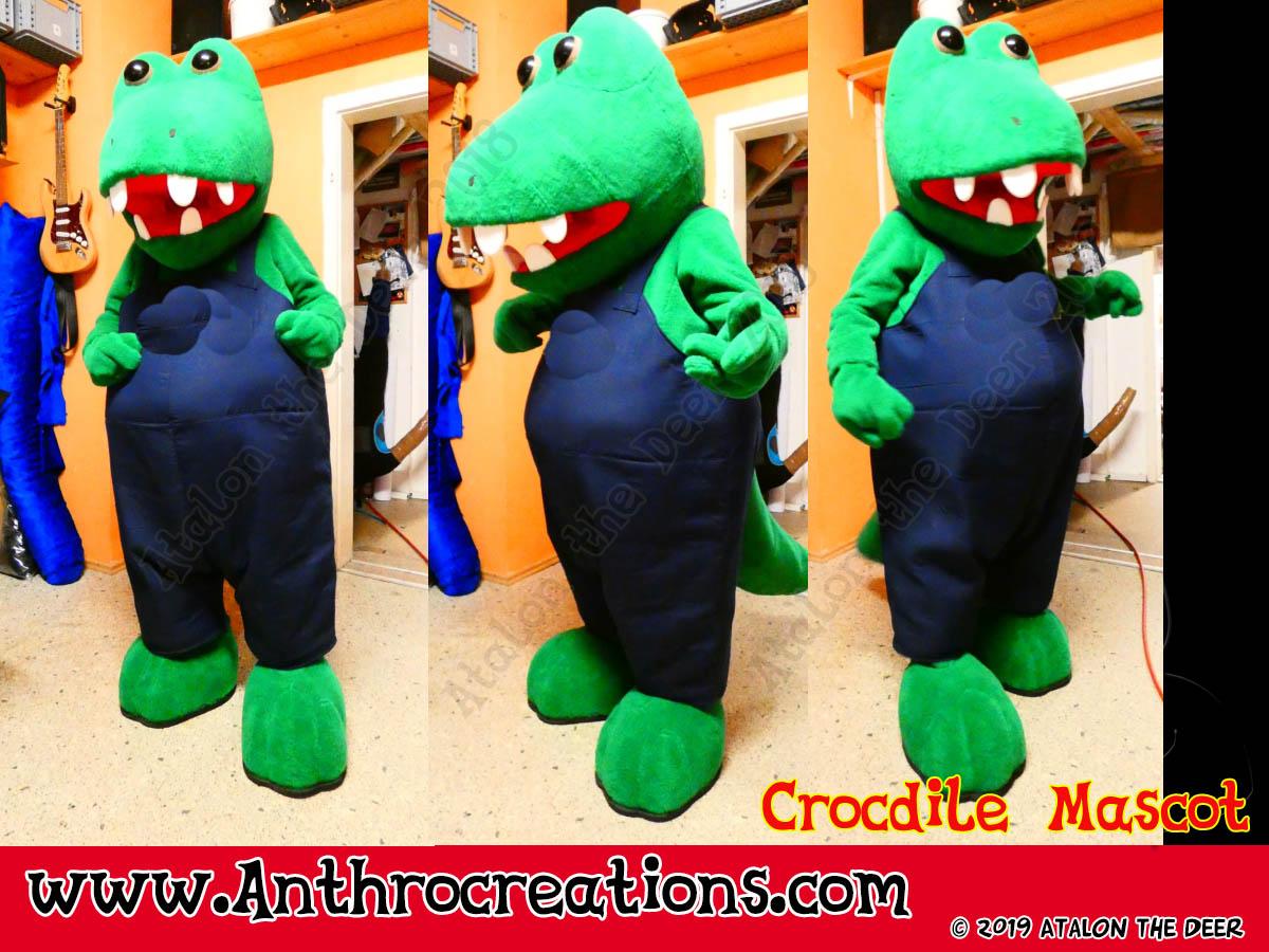 Croc Mascot