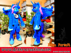 MLP LUNA Fursuit 2020