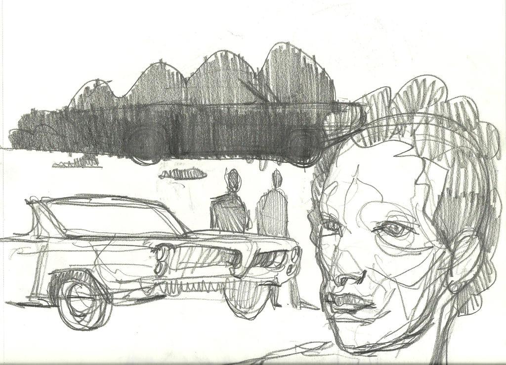 D Car Pontiac by mrtrishe-II