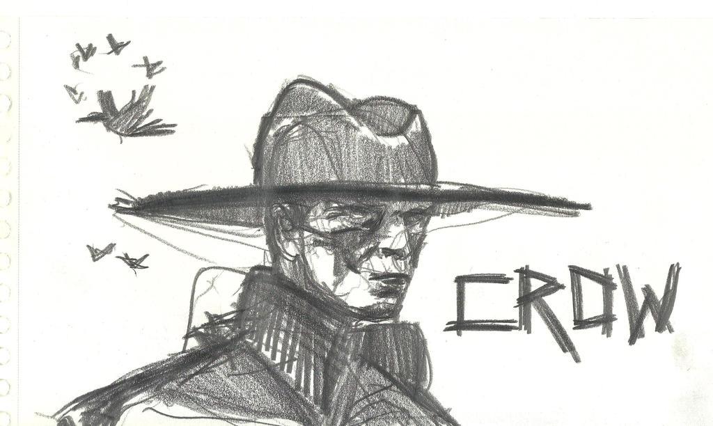 20171002-crow Cowboy by mrtrishe-II