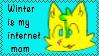 Winter is my internet mom by Mysti-crow