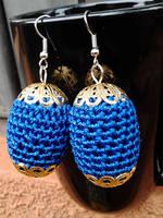 Bead Crochet Earrings by birschey