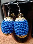 Bead Crochet Earrings