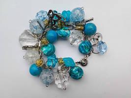 Chunky charm bracelets by birschey