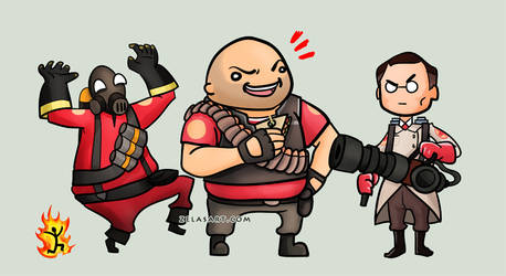 Team Fortress Chibis -part 1-