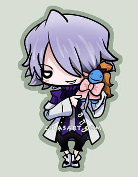Xerxes Break Chibi commission